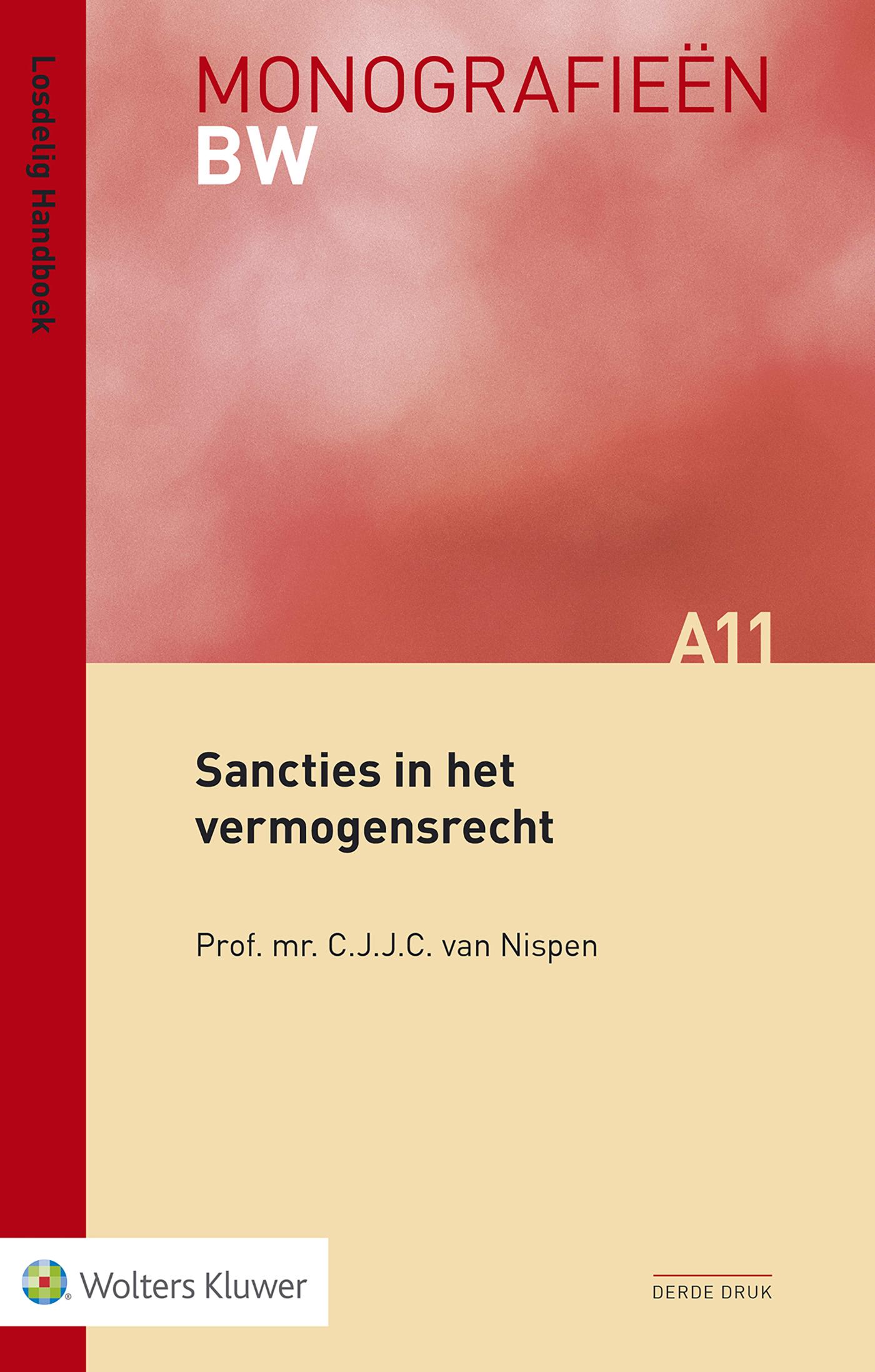 Cover Sancties in het vermogensrecht