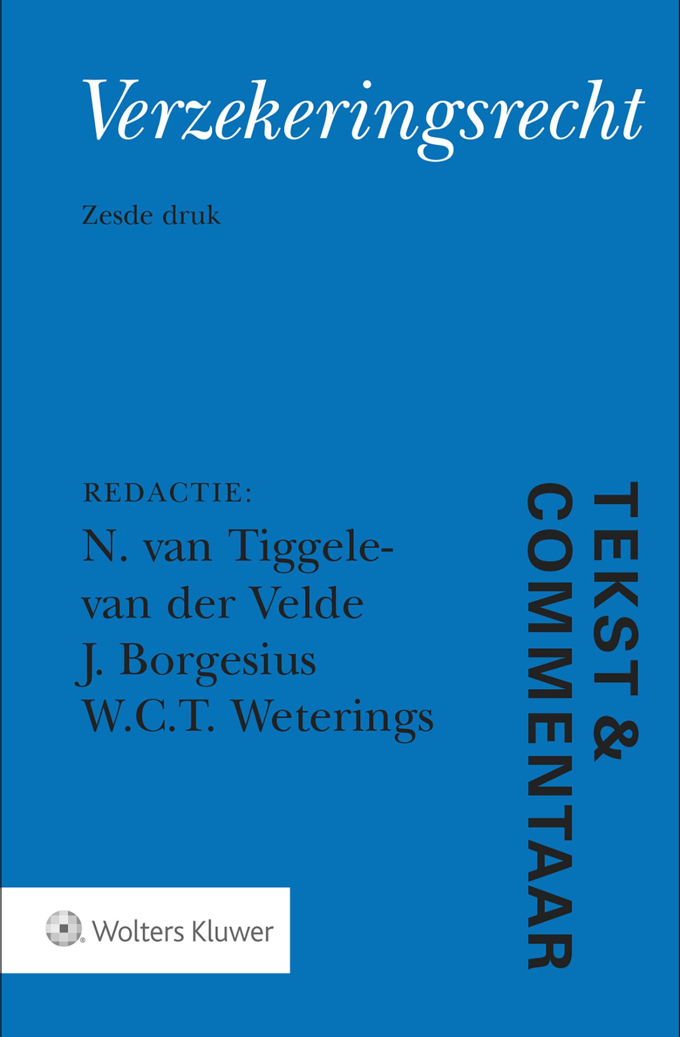 Cover Verzekeringsrecht