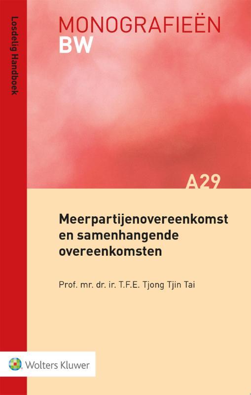 Cover Meerpartijenovereenkomst en samenhangende overeenkomsten