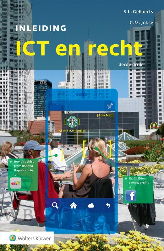Cover Inleiding ICT en recht