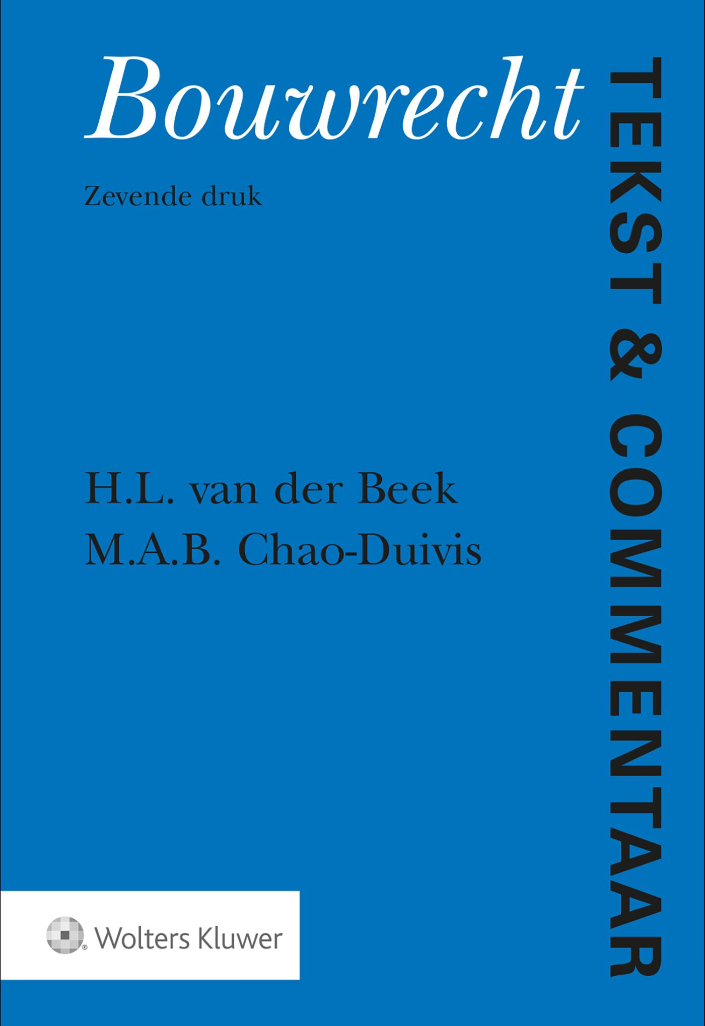 Cover Bouwrecht