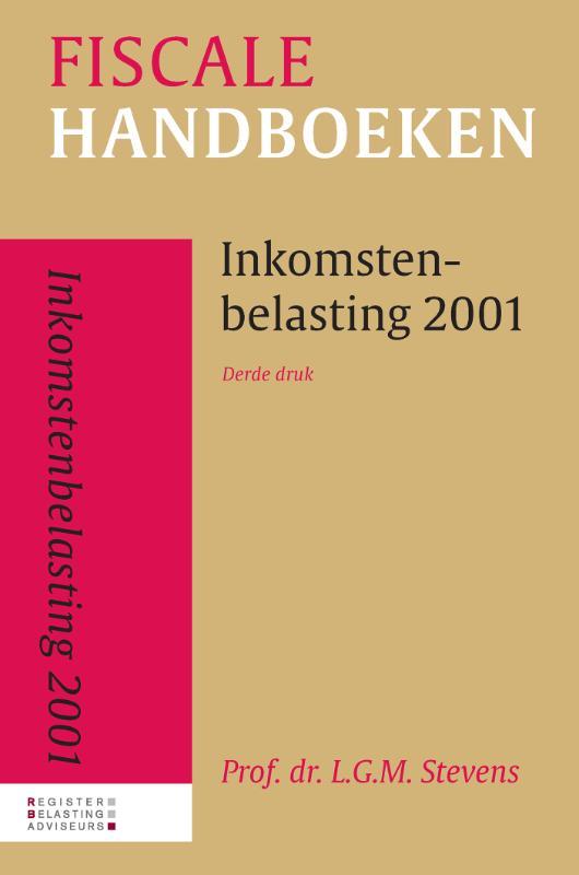 Cover Inkomstenbelasting 2001
