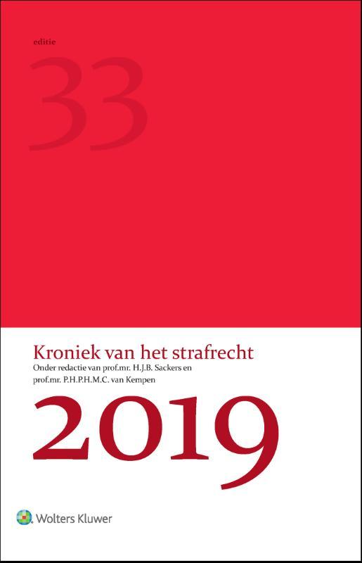 Cover Kroniek van het strafrecht 2019