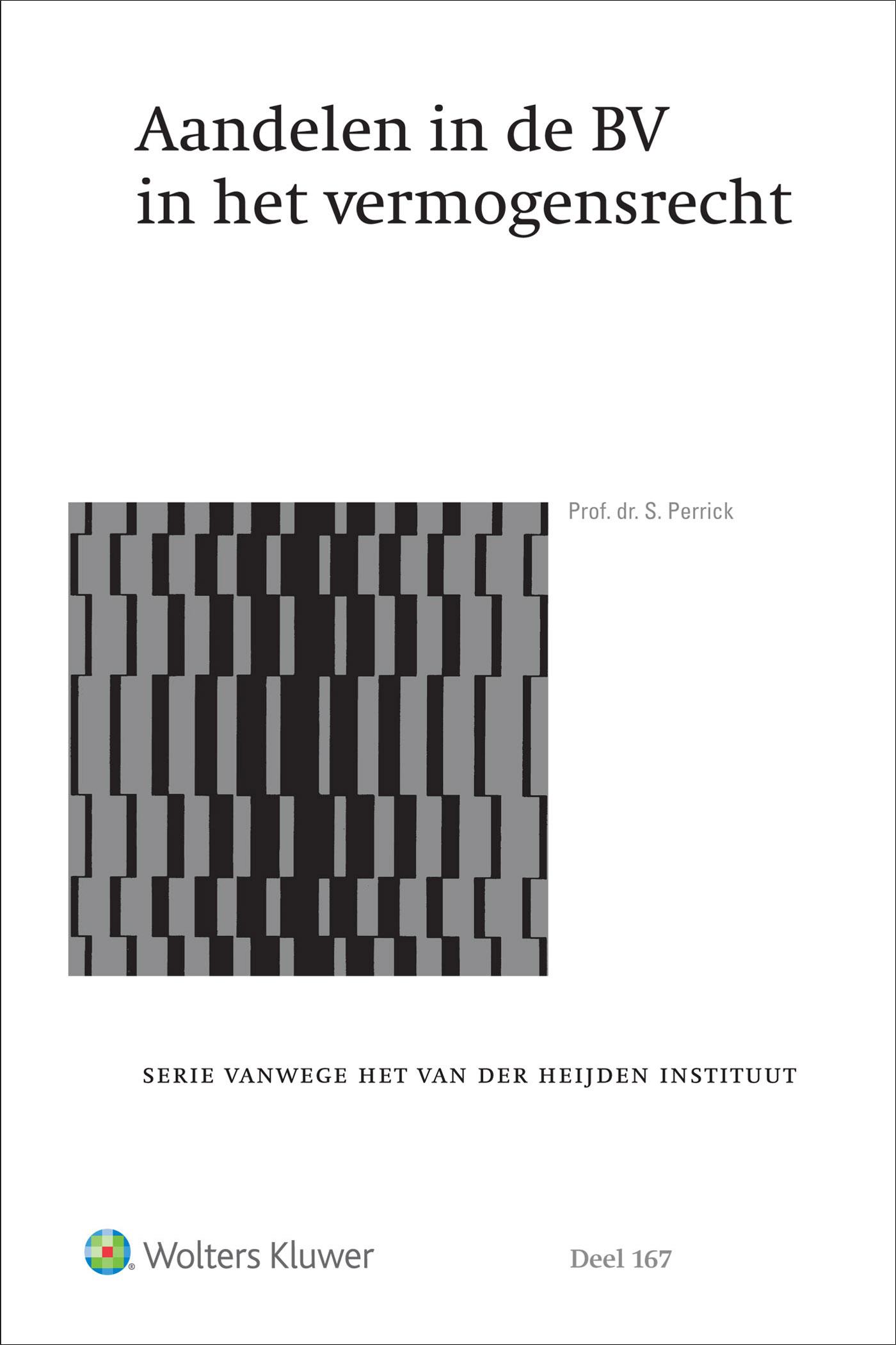 Cover Aandelen in de BV in het vermogensrecht
