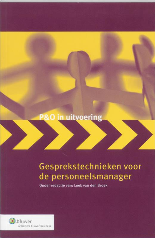 Cover Gesprekstechnieken voor de personeelsmanager
