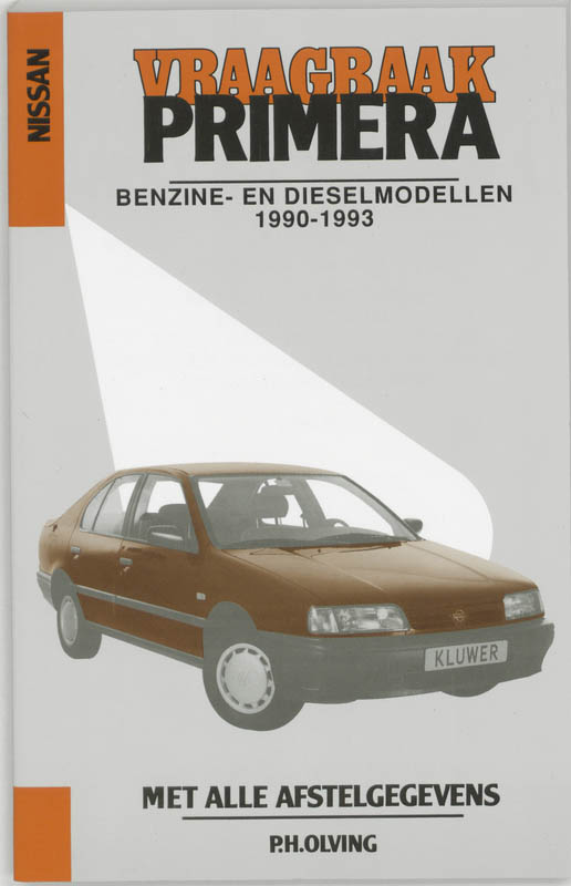 Cover Vraagbaak Nissan Primera