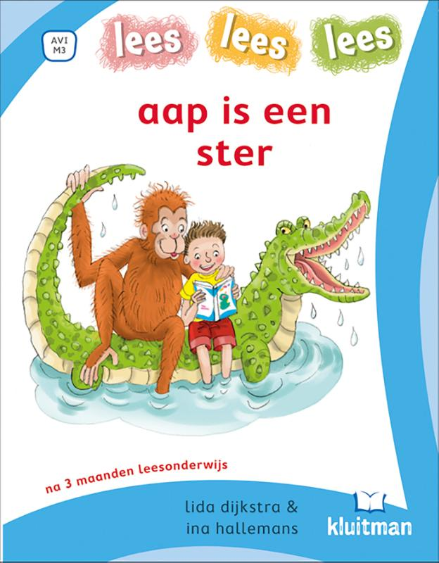 Cover aap is een ster