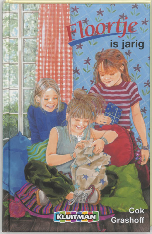 Cover Floortje is jarig
