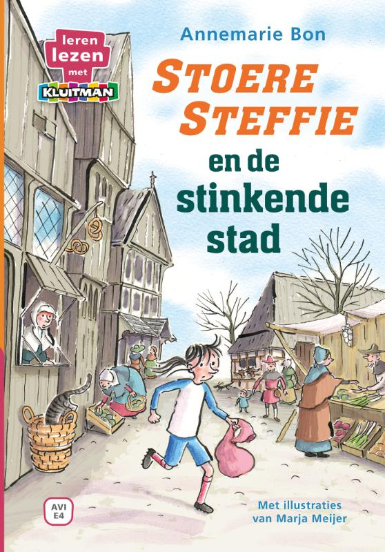 Cover Stoere Steffie en de stinkende stad