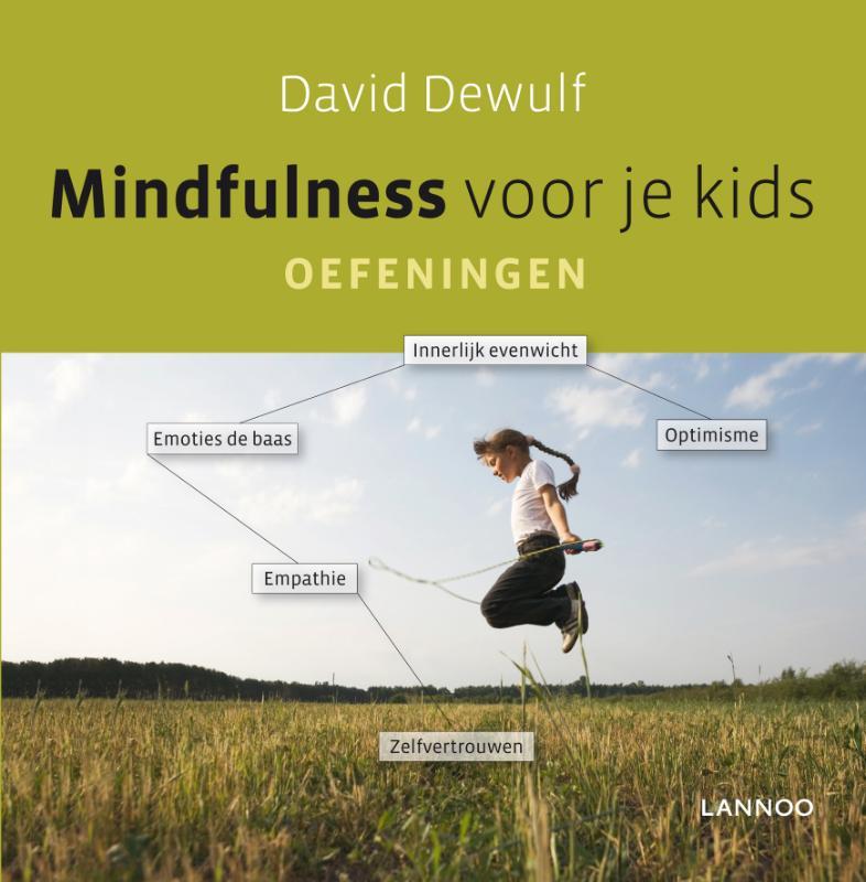 Cover Mindfulness voor je kids. Oefeningen