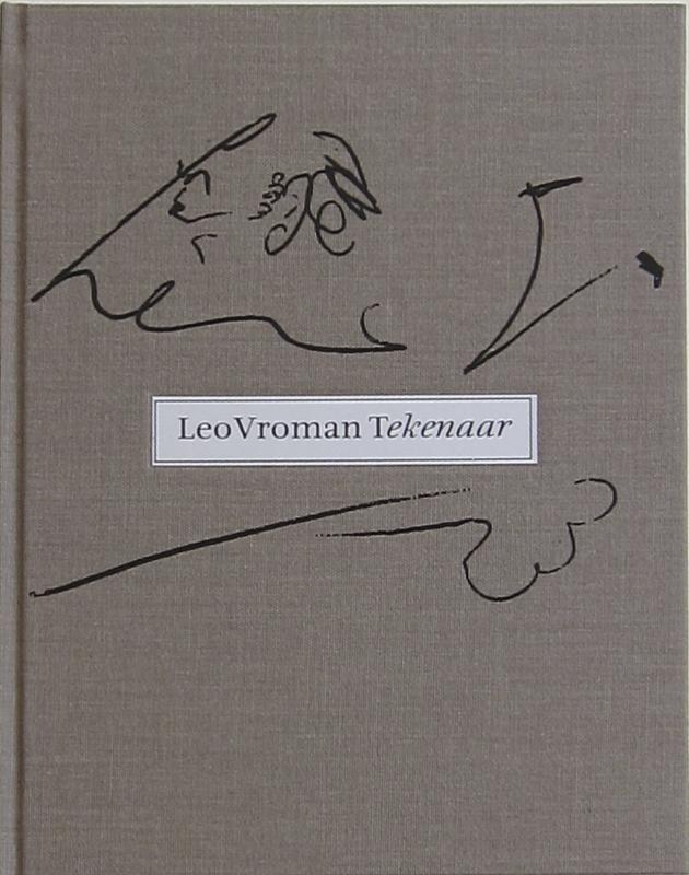 Cover Leo Vroman tekenaar