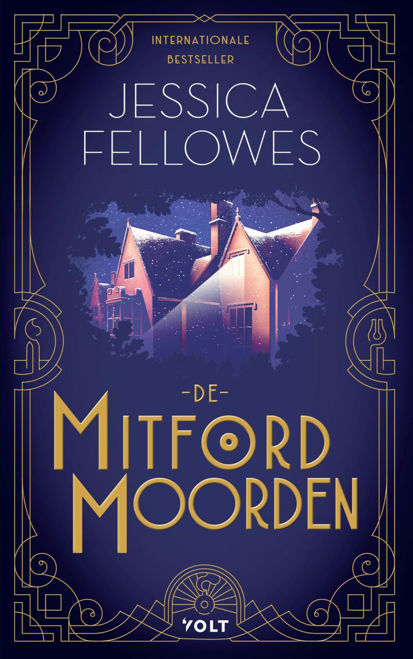 Cover De Mitford-moorden