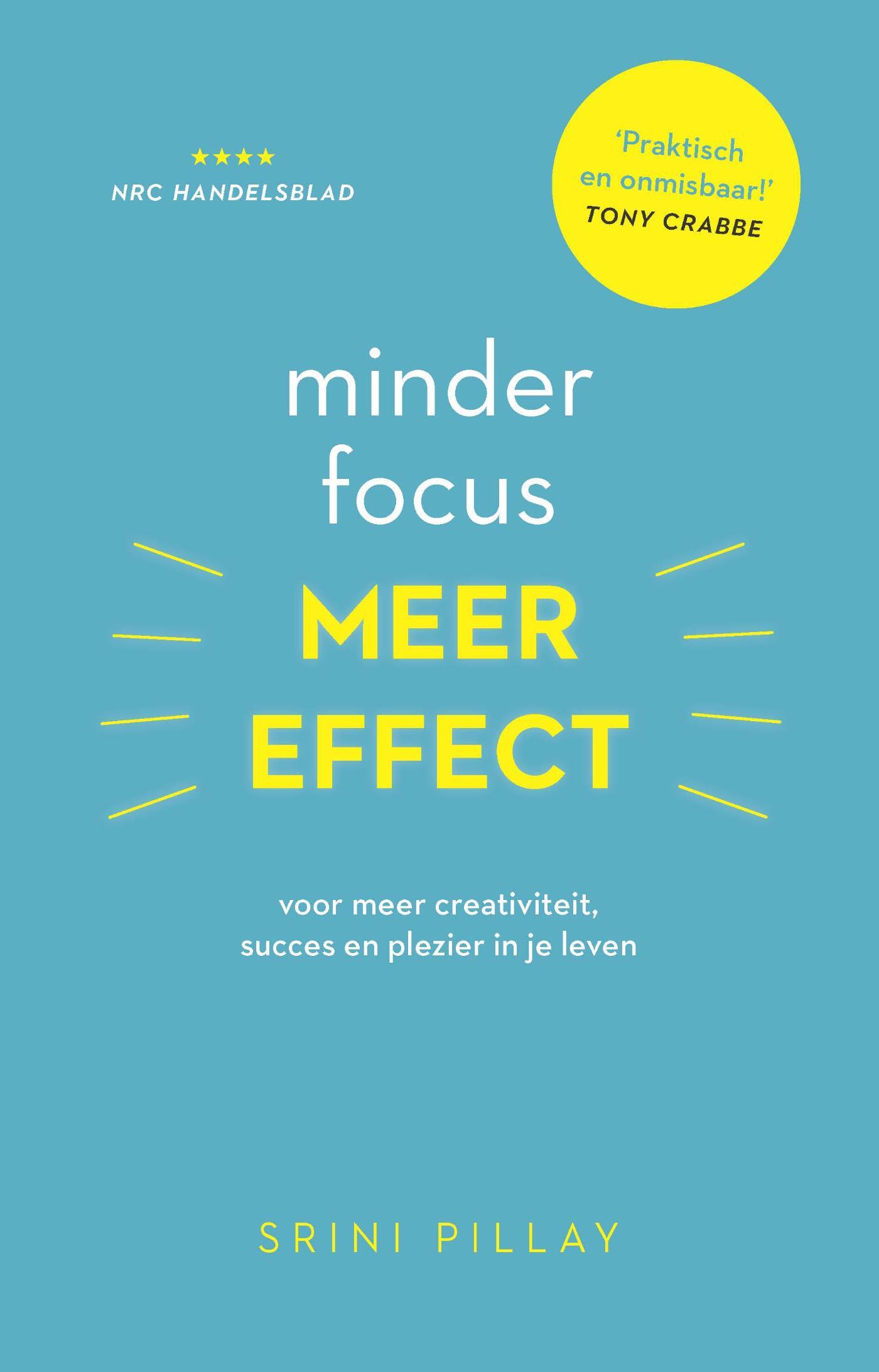 Cover Minder focus, meer effect
