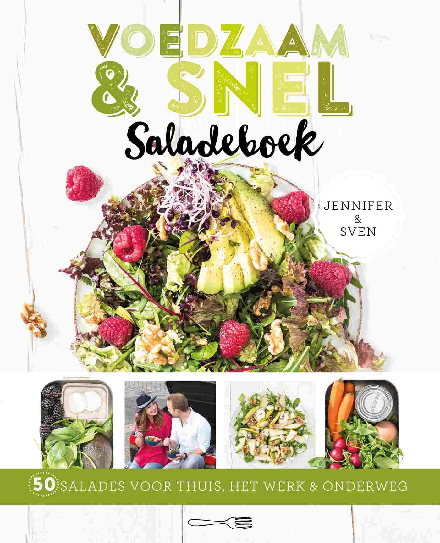 Cover Voedzaam & snel saladeboek