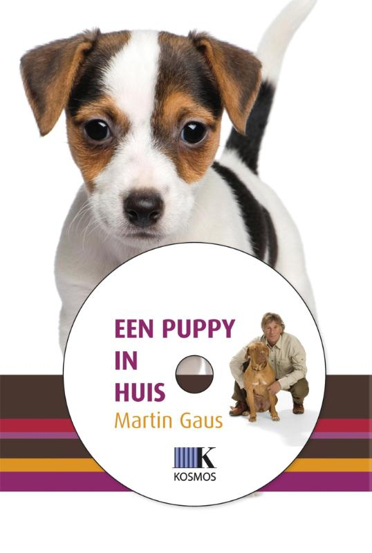 Cover Een puppy in huis + DVD