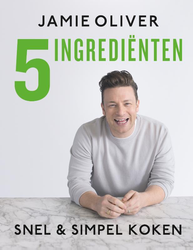 Cover Jamie Oliver - 5 ingredienten