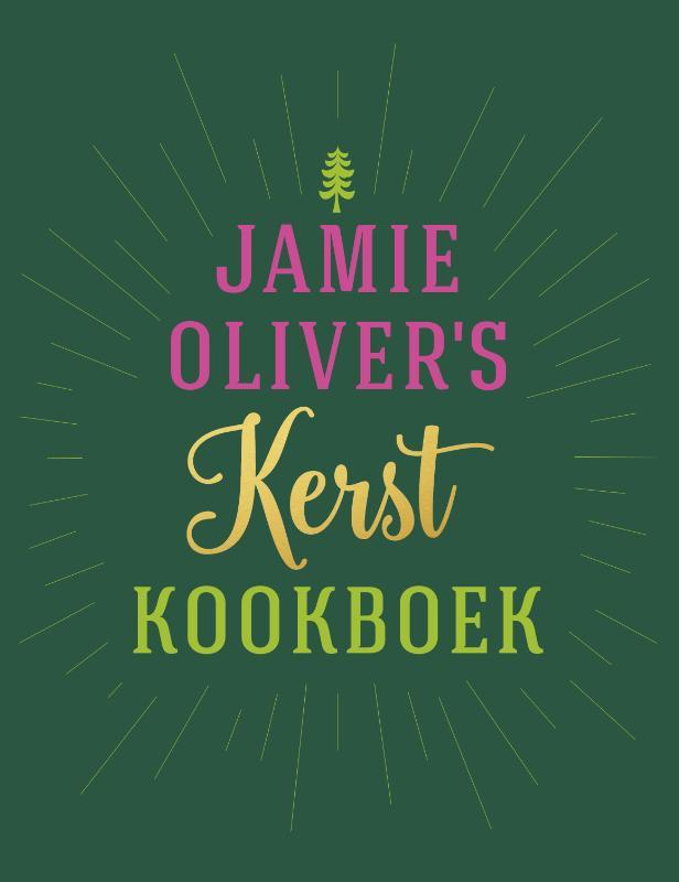 Cover Jamie Oliver's kerstkookboek