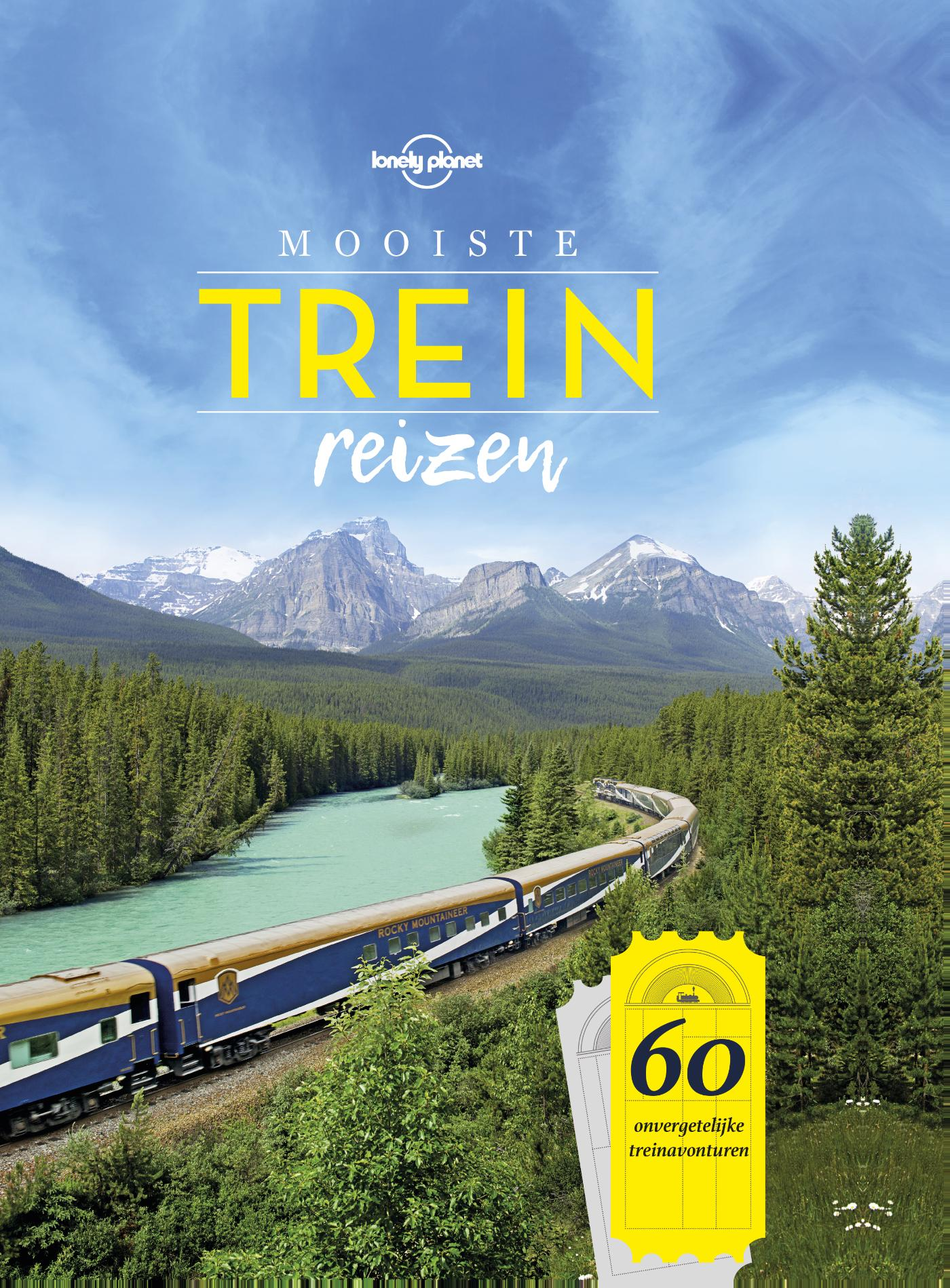 Cover Lonely Planet mooiste treinreizen