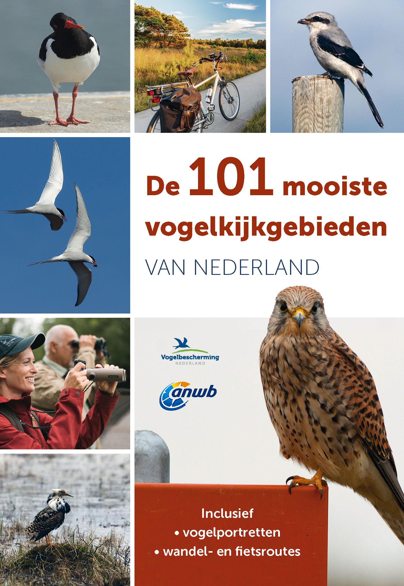 Cover De 101 mooiste vogelkijkgebieden van Nederland