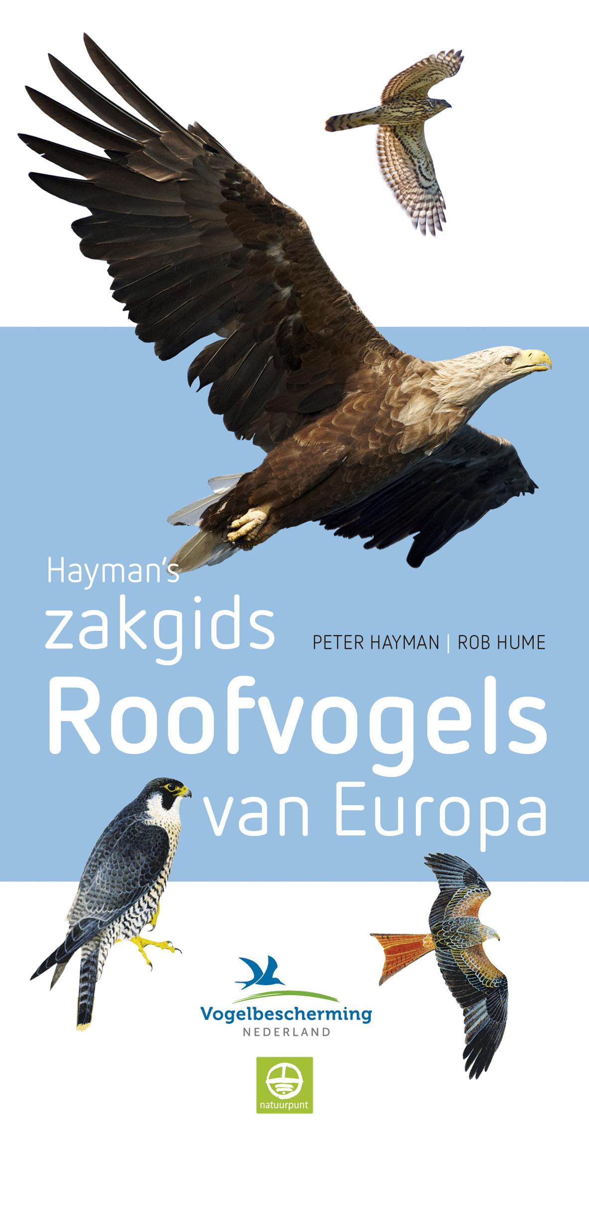 Cover Haymans zakgids Roofvogels van Europa
