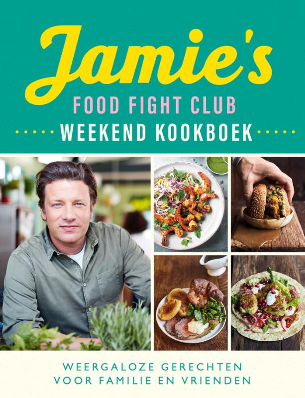 Cover Jamie's Food Fight Club weekend kookboek