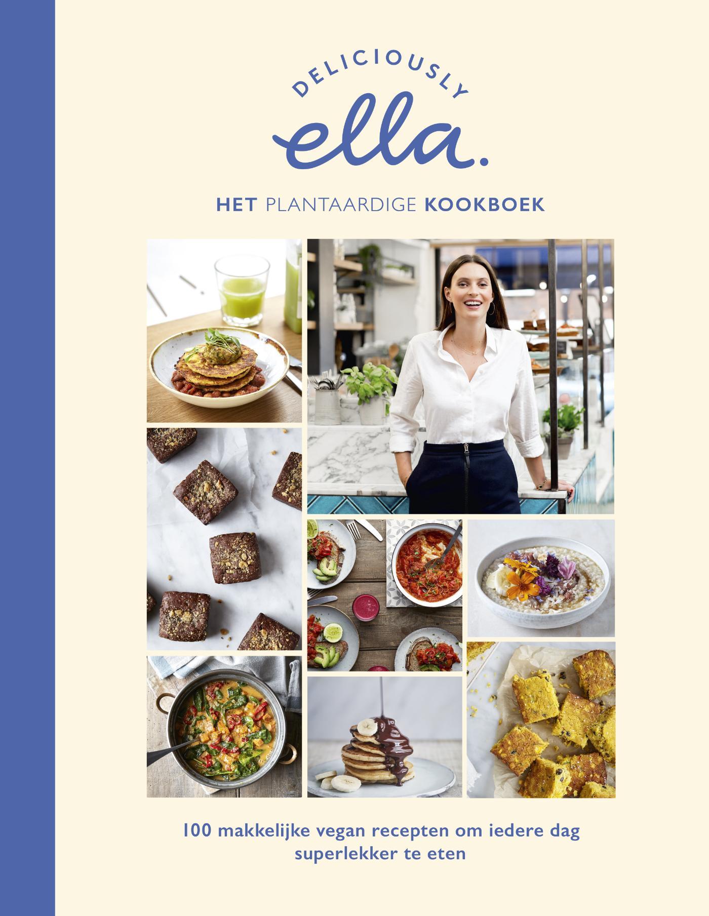 Cover Deliciously Ella. Het plantaardige kookboek