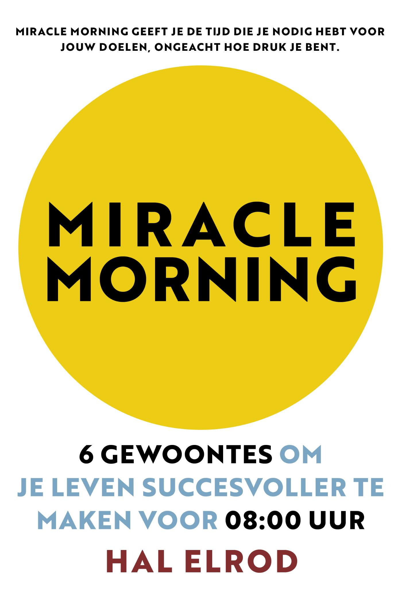 Cover Miracle Morning