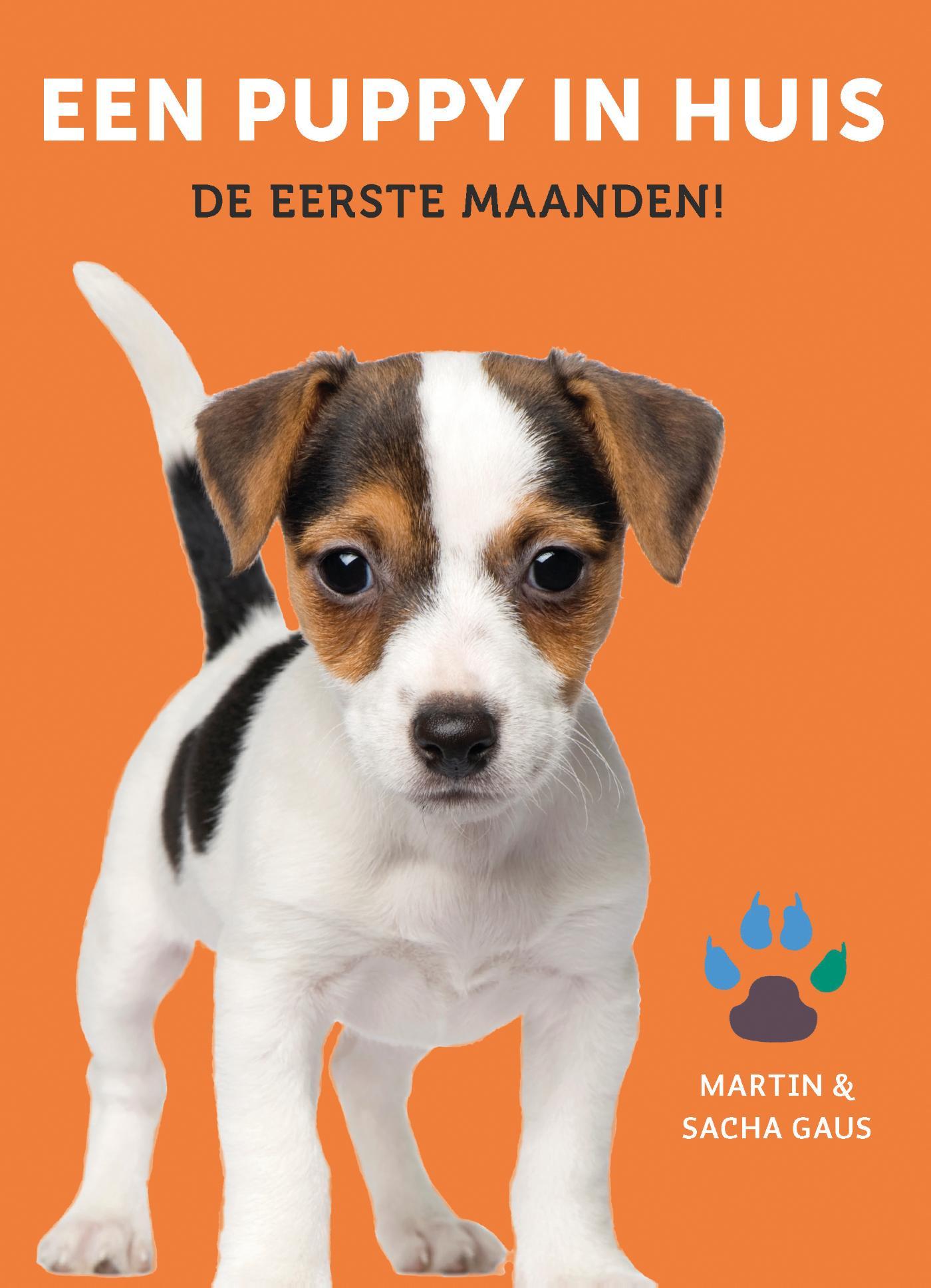 Cover Een puppy in huis