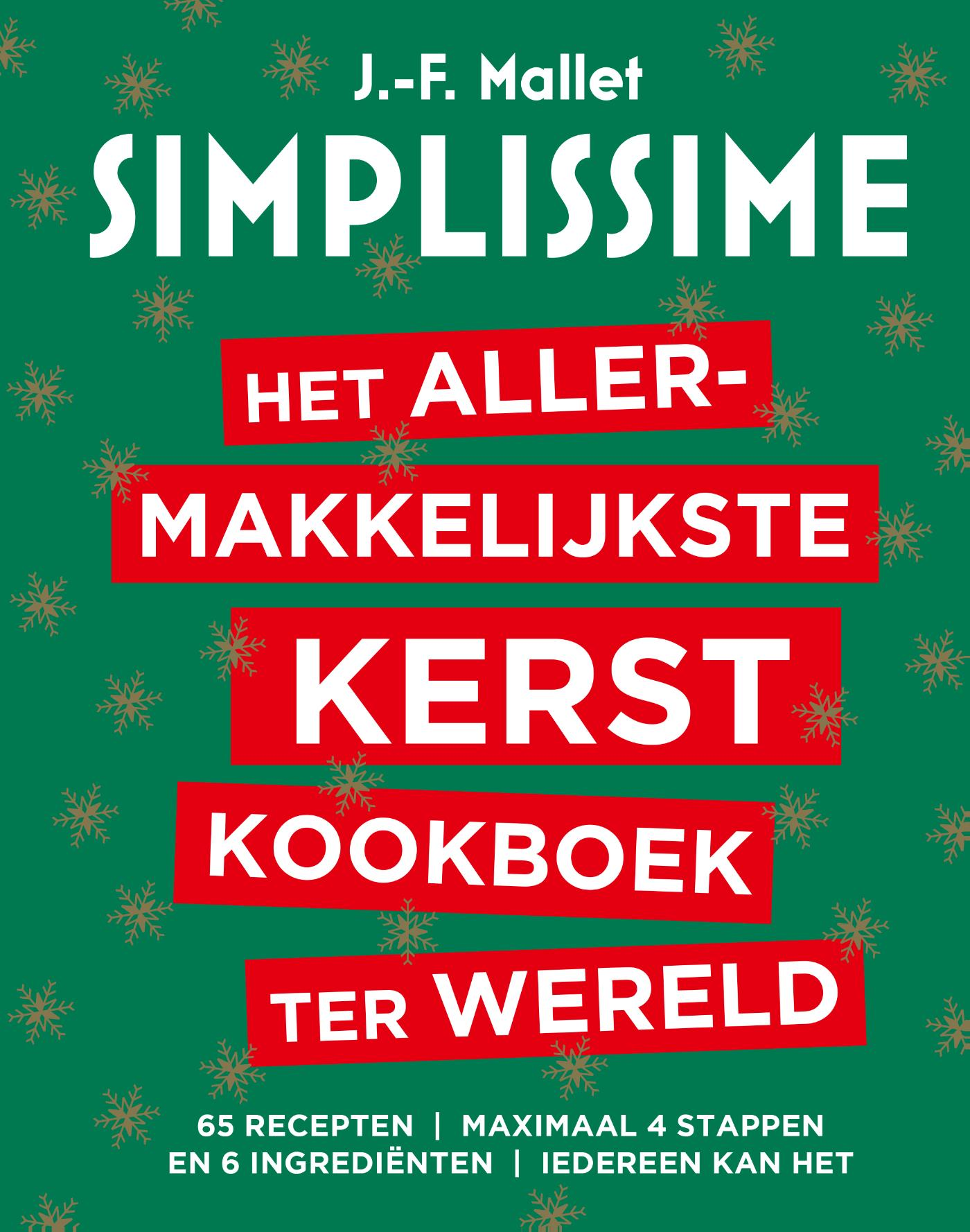 Cover Het allermakkelijkste Kerstkookboek ter wereld