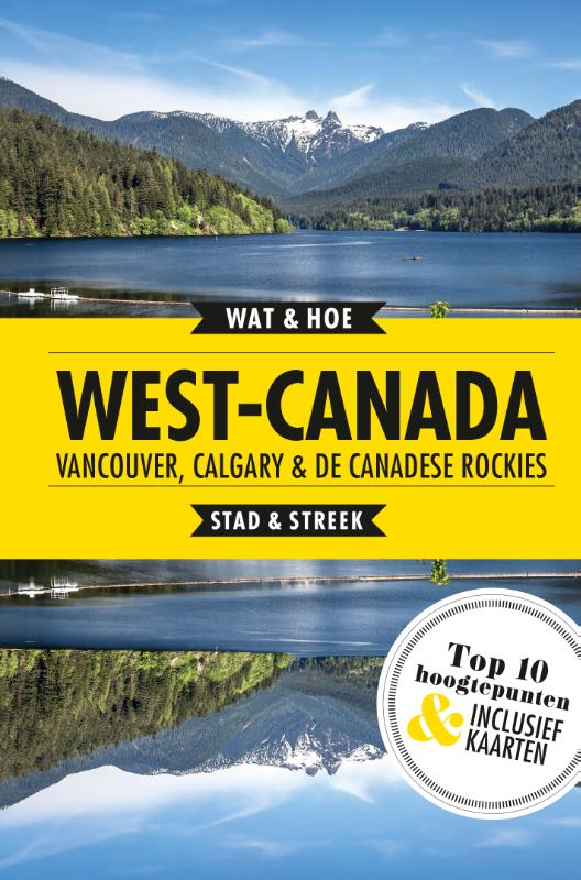Cover West-Canada, Vancouver, Calgary en de Canadese Rockies