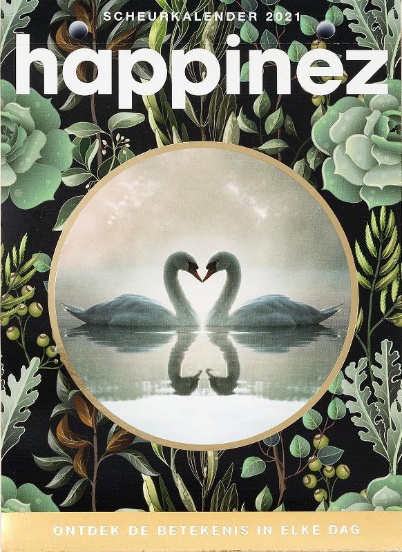Cover Happinez Spirituele scheurkalender 2021