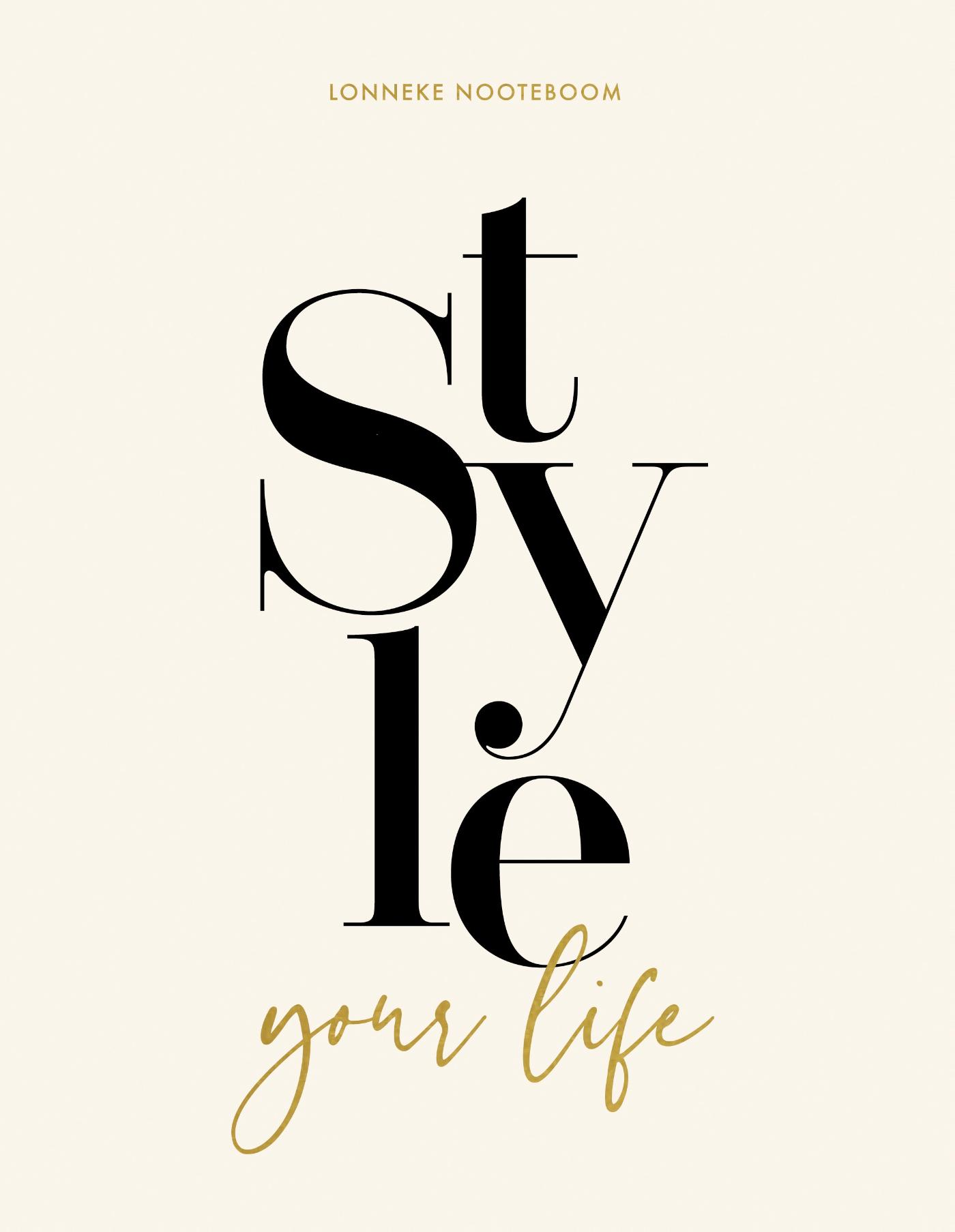 Cover Style your Life