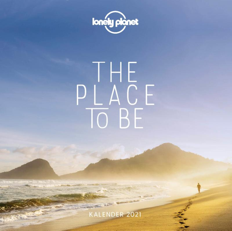 Cover Lonely planet The Place to Be Kalender 2021
