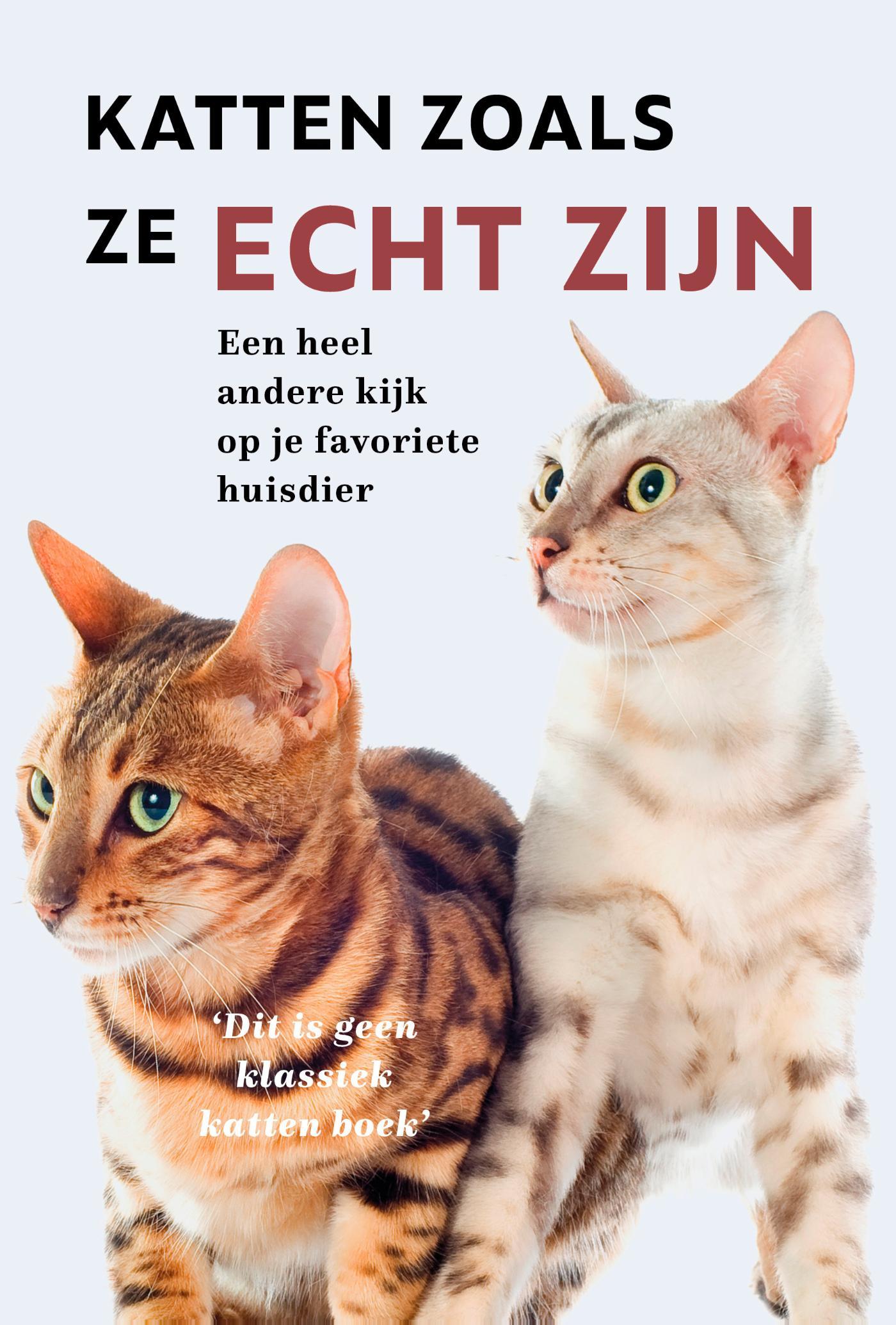 Cover Katten zoals ze echt zijn