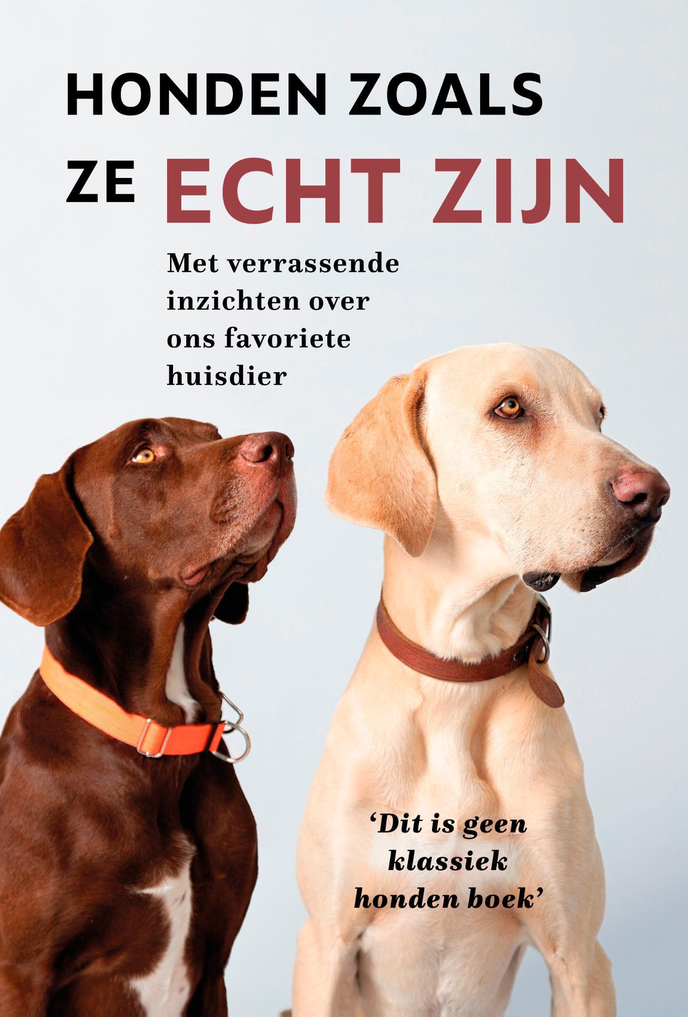 Cover Honden zoals ze echt zijn