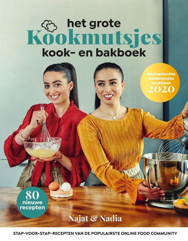 Cover Het grote Kookmutsjes kook- en bakboek