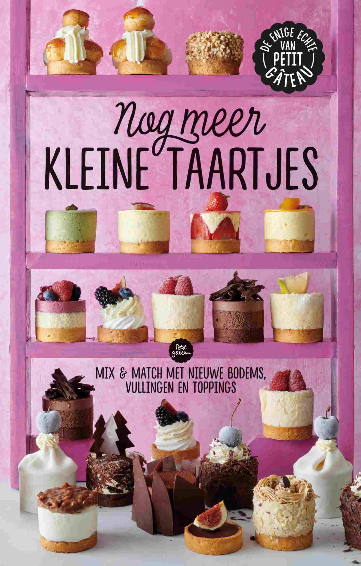 Cover Nog meer kleine taartjes
