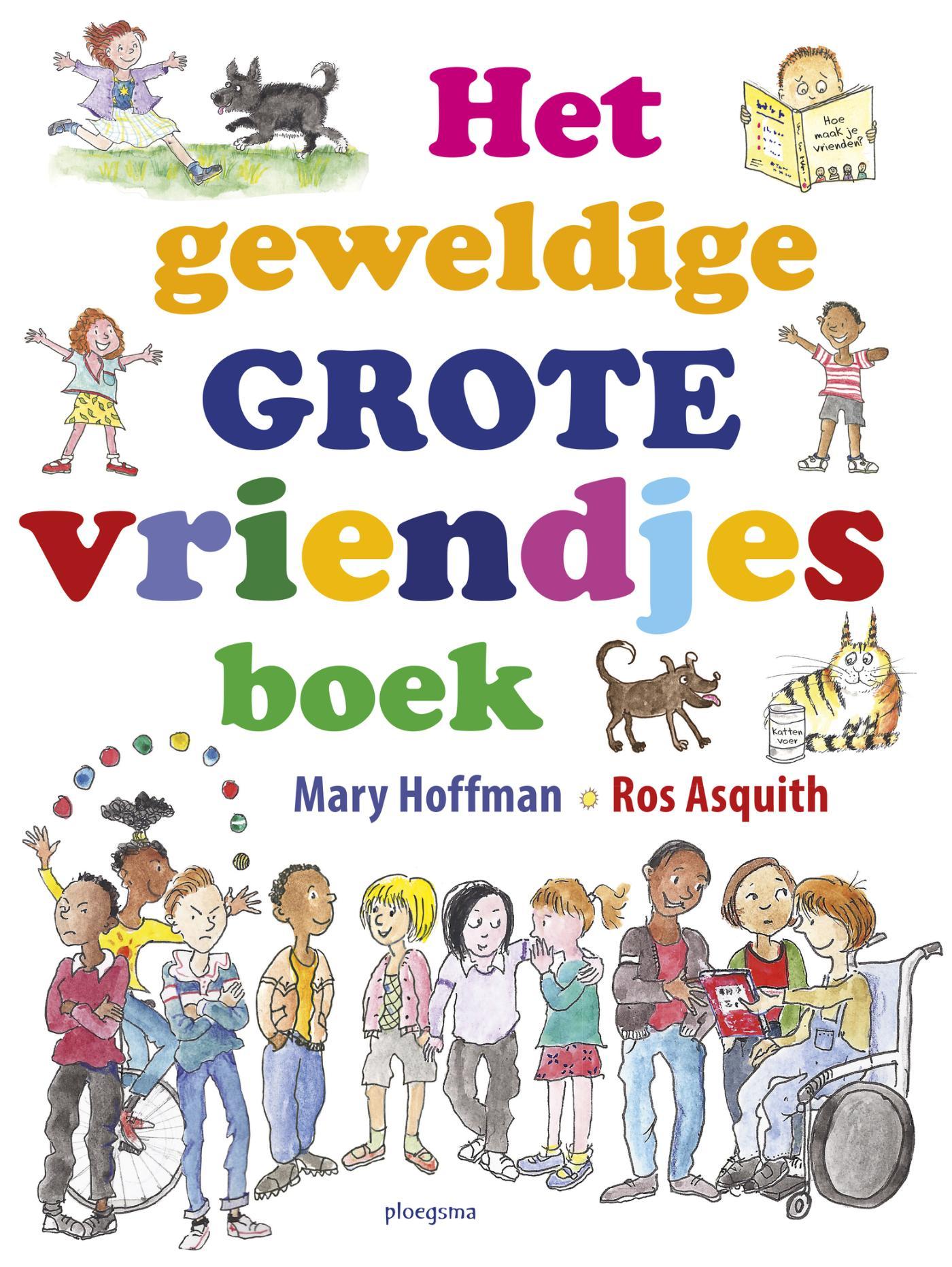 Cover Het geweldige grote vriendjesboek