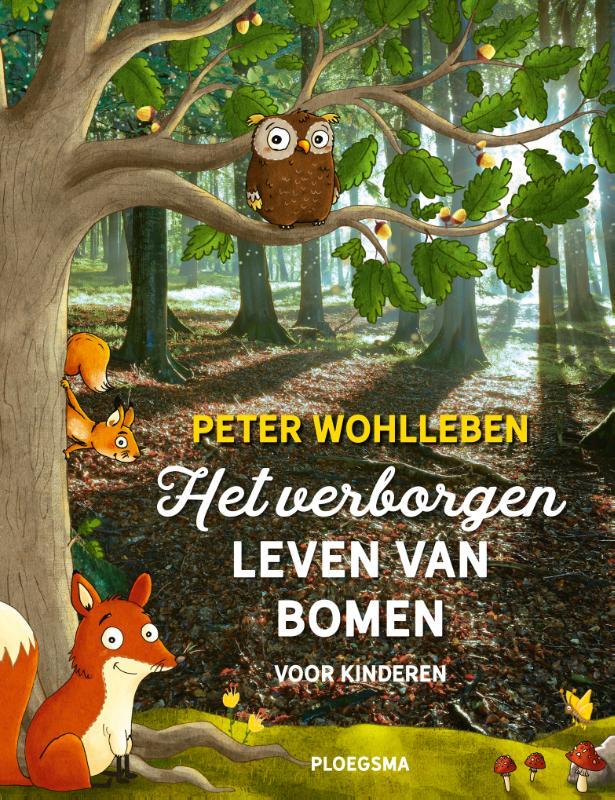 Cover Het verborgen leven van bomen voor kinderen
