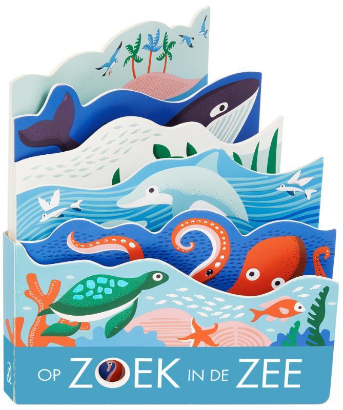 Cover Op zoek in de zee