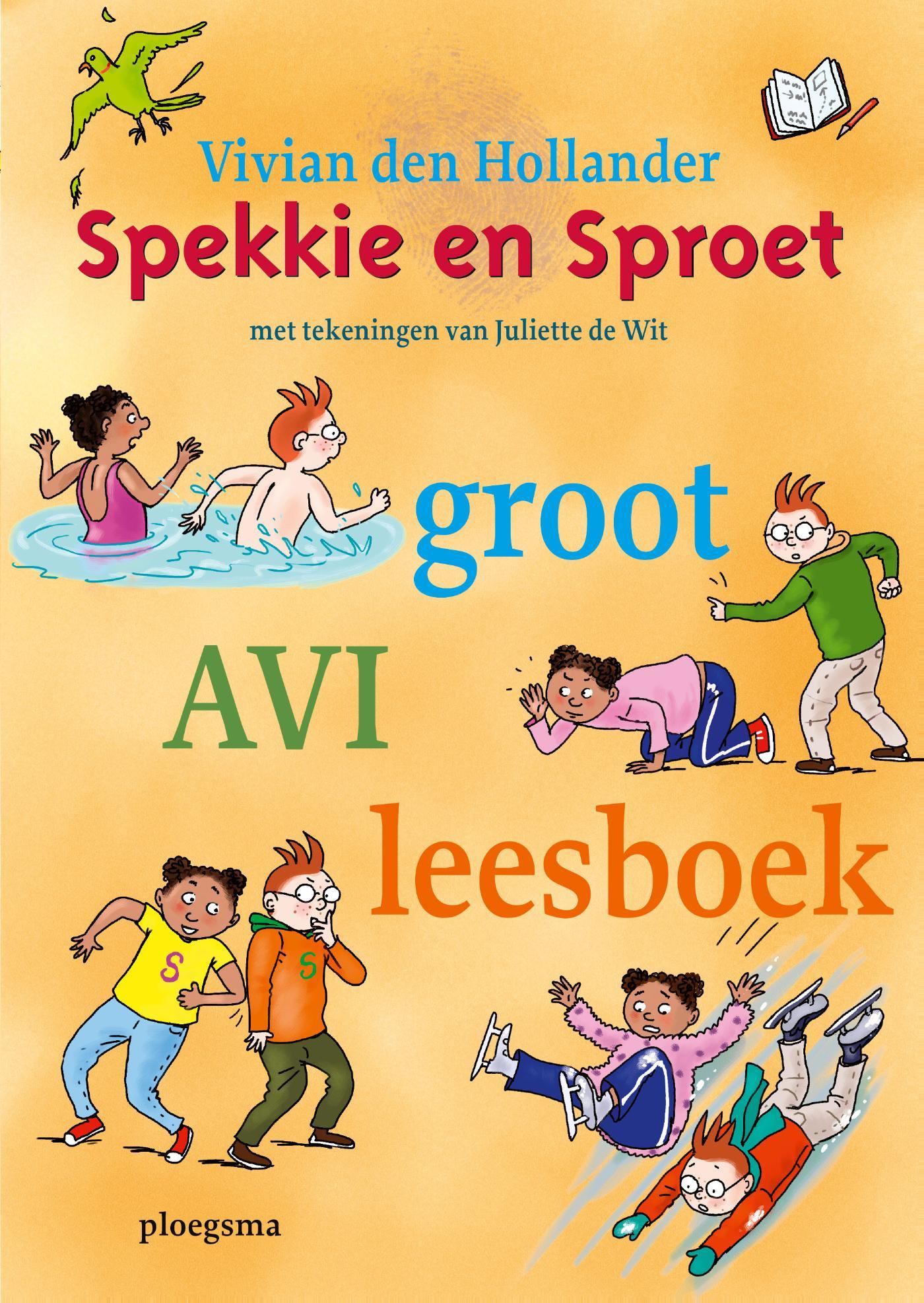 Cover Spekkie en Sproet groot AVI leesboek