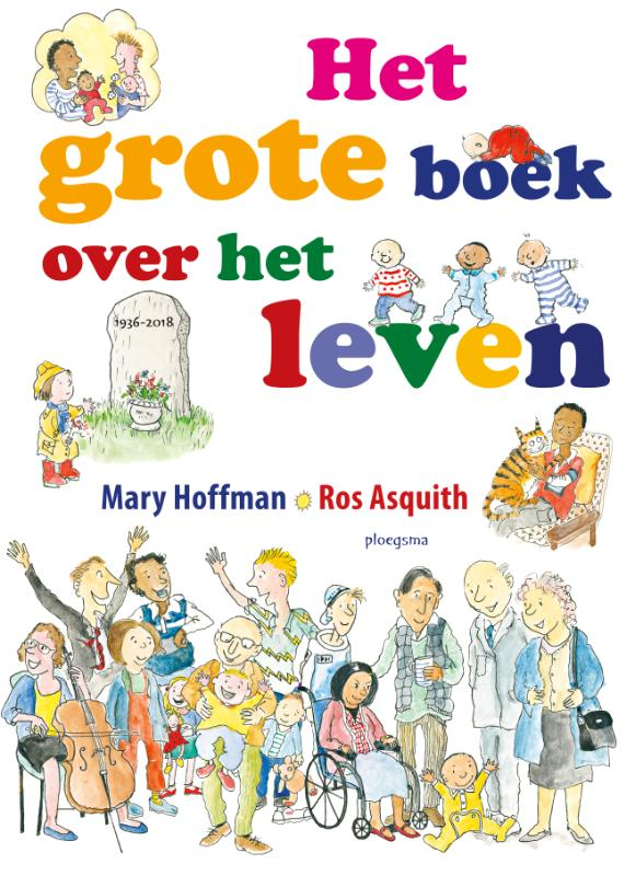 Cover Het grote boek over het leven