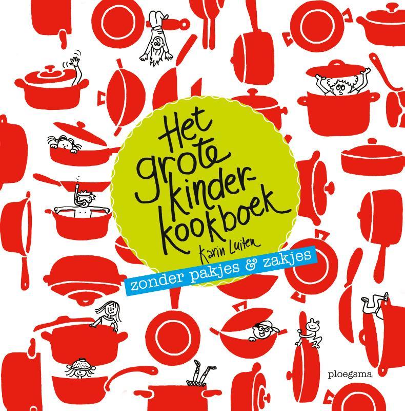 Cover Het grote kinderkookboek