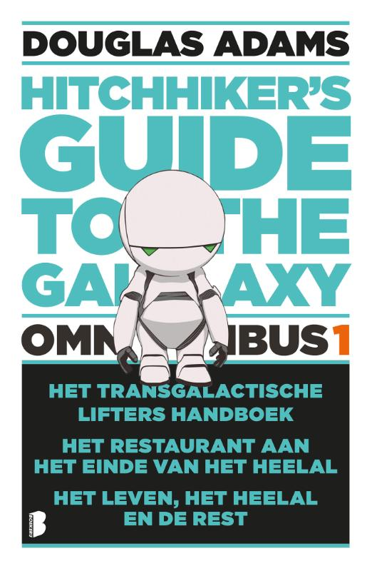 Cover The hitchhiker's Guide to the Galaxy - omnibus 1