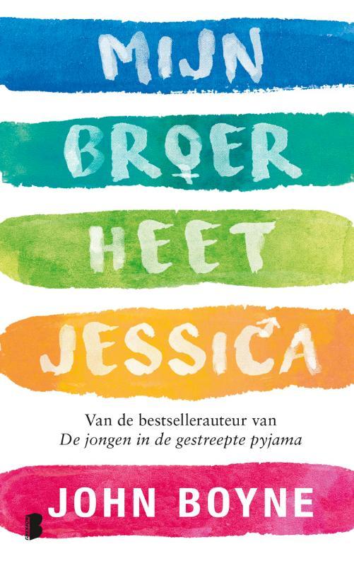 Cover Mijn broer heet Jessica