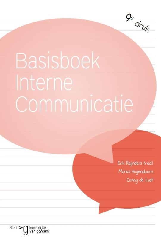 Cover Basisboek interne communicatie