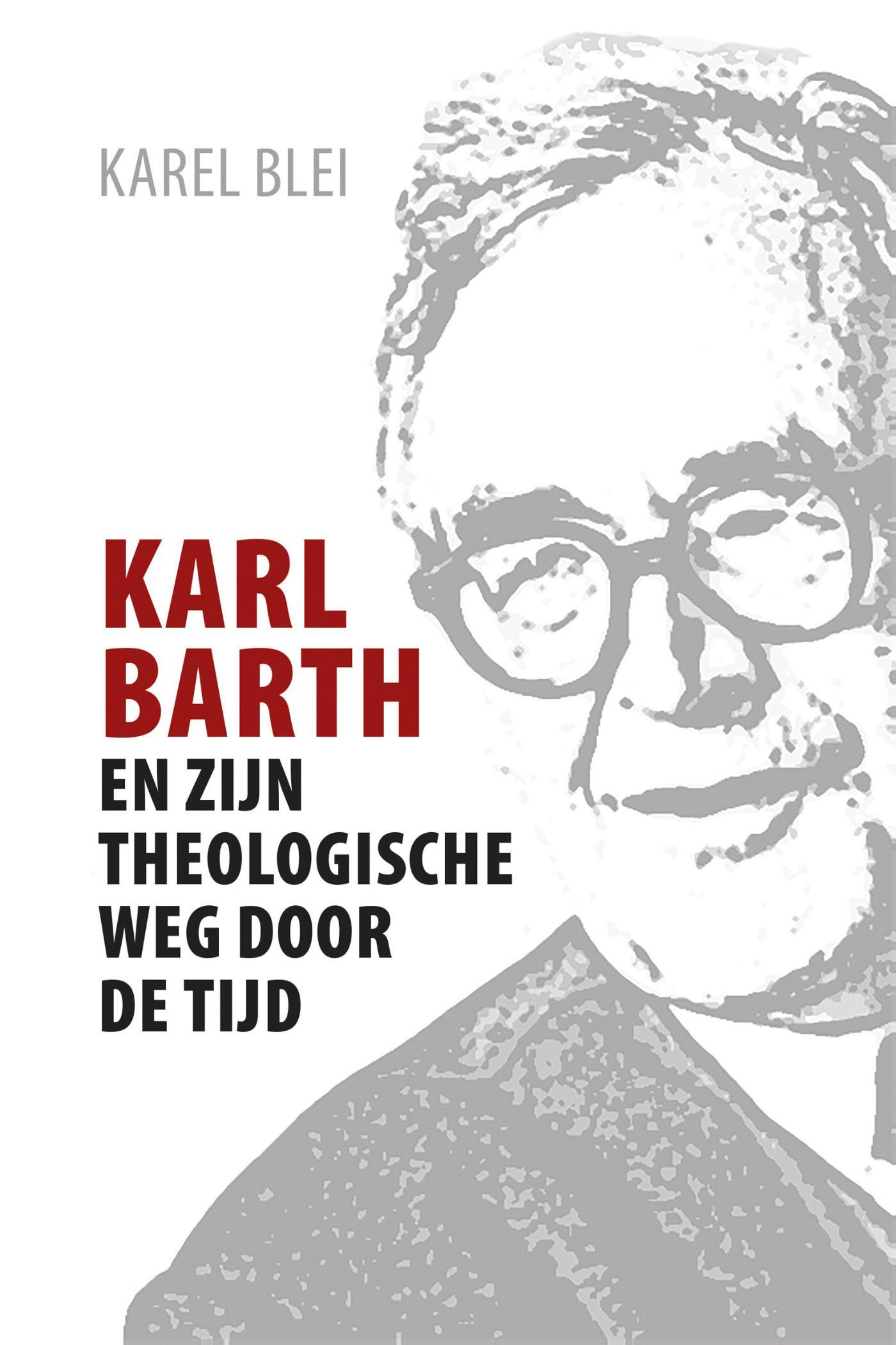Cover Karl Barth en zijn theologische weg door de tijd