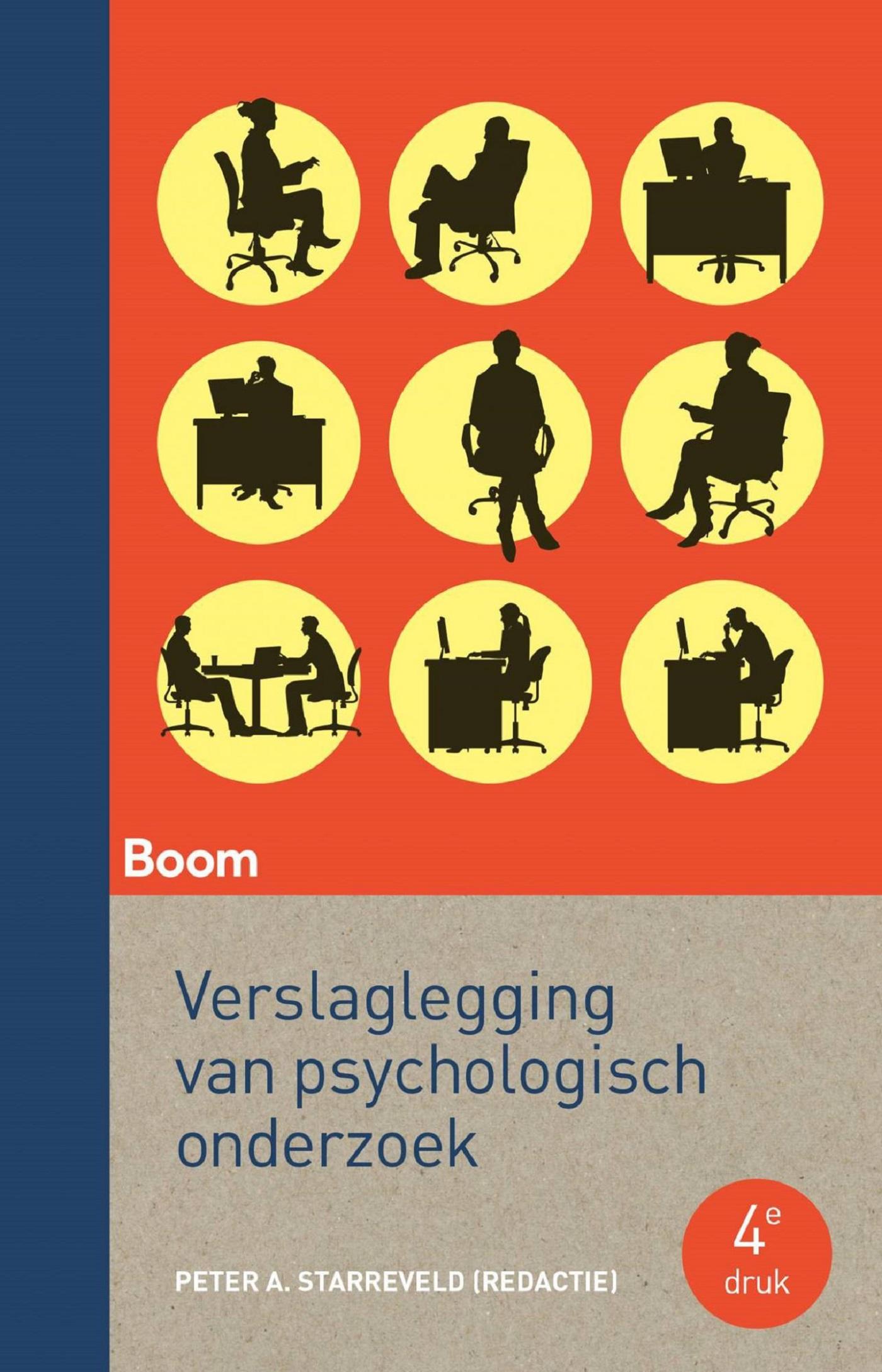 Cover Verslaglegging van psychologisch onderzoek