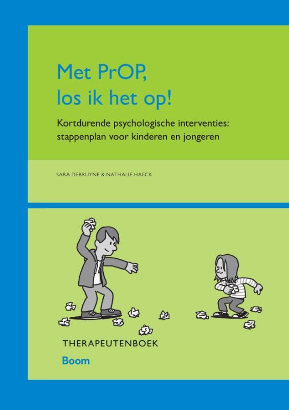 Cover Met PrOP los ik het op! Therapeutenboek