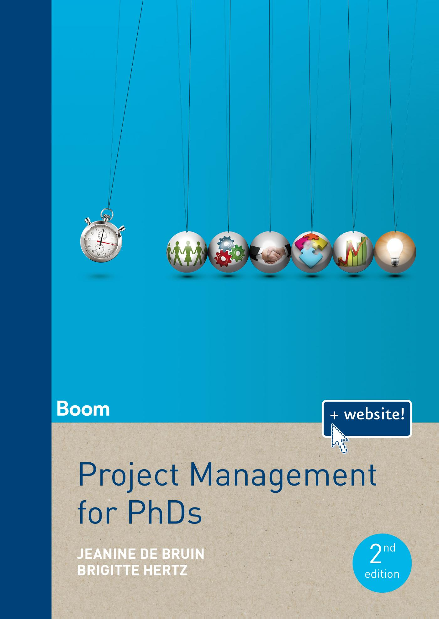 Cover Project Management for PhDs